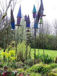 Tin can Birdhouses-