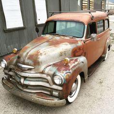 "1954 Chevrolet Suburban ""Carryall"" Lowrider Custom 1950 1951 1952 1953"