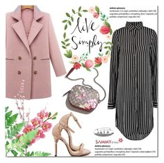 """Sammydress spring"" by purpleagony on Polyvore featuring Pier 1 Imports, Laura Cole, Gucci, shirtdress, sammydress, springfashion and pastelcoat"