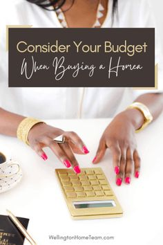 Consider Your Budget when Buying a Home #homebuying #florida #realestate #cost #howto #diy