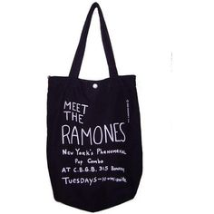 bag tote ramones h&m black ❤ liked on Polyvore featuring bags, handbags, tote bags, accessories, bolsas, sacs, tote purse, h&m purses, h&m handbags and handbags tote bags