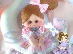 Le creazioni di Sarlilla: Fiocco nascita Sveva