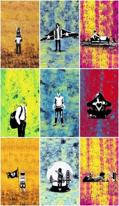 The New Broken Scene I knew what song each of these represented immediately