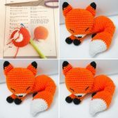 🇺🇸🇬🇧 Smile, today is Friday 😃 … Weekend mode ➡ ^ ^ If you haven't met Milo yet . What are you waiting for! Enjoy this weekend… - Salvabrani Crochet Fox Pattern Free, Easter Crochet Patterns, Crochet Dolls Free Patterns, Amigurumi Patterns, Knitted Bunnies, Doll Tutorial, Stuffed Animal Patterns, Crochet Projects, Clever