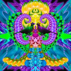 Tropical LSD Birds Birthday Candles, Tropical, Birds, Animals, Animales, Animaux, Bird, Animal, Animais