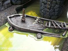 The poor fisherman by the Middle Bridge, Mordheim