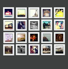 White + Square – Tiny Mighty Frames