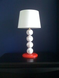 Repurposed Baseball Bat Lamp