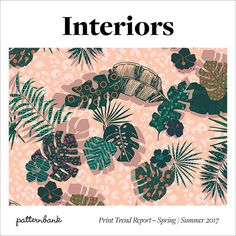 """<p><span  style=""""color: rgb(0, 0, 0); font-weight: bold; background-color: initial;"""">Patternbank are excited to introduce our latest print trend tool that focuses on home for SS17. Our interiors team have been researching and analysing the world of design, art and pattern to create this essential print trend report. With over 70 pages of inspirational mood, colour and pattern trend intelligence, this print trend forecast aims to assist and inspire with all your new season…"""