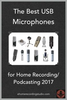 Need a good desktop/PC microphone for your computer? In this post I cover the best USB computer microphones as of 2017. Blue Yeti, Snowball iCE and more.
