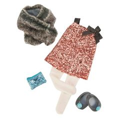 Our Generation® Deluxe Outfit - The Sequin Secret™ : Target Our Generation Doll Accessories, Our Generation Doll Clothes, Girl Doll Clothes, Girl Dolls, Ropa American Girl, Og Dolls, Journey Girls, Little Fashionista, Retro Outfits