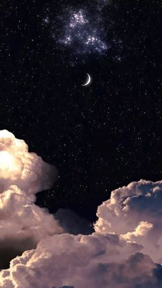 Night Sky Wallpaper, Wallpaper Space, Iphone Wallpaper Tumblr Aesthetic, Iphone Background Wallpaper, Aesthetic Pastel Wallpaper, Scenery Wallpaper, Black Wallpaper, Disney Wallpaper, Galaxy Wallpaper