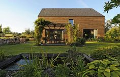 garden + country house in czech rep. nice space and materials