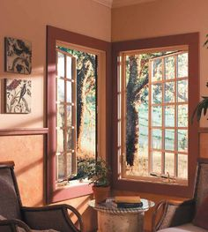 Fiberglass casement windows by Milgard are the most efficient style of window, a great noise reducer, practically maintenance free and have a high resistance to warping and twisting