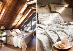 Cabană de munte, cochetă și primitoare – Fabrika de Case    #bedroom #beige #neutral