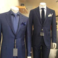 Canali and Corneliani suits. Suit Jacket, Menswear, Suits, Jackets, Fashion, Down Jackets, Moda, Fashion Styles, Men Wear