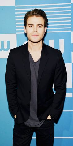Paul Wesley attends the CW Network's 2015 Upfront // May 14, 2015