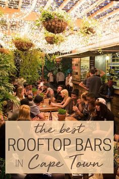 The Best Rooftop Bars in Cape Town