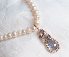 Victorian Bliss Necklace by SparrowsJewels on Etsy, $98.00