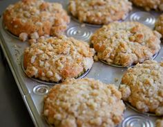 Baby and Me: Rhubarb Oatmeal Muffins / Toddler Friendly Breakfast or Snack