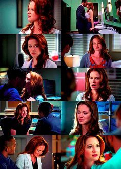April Kepner Hairporn. Seriously, her hair is gorgeous.