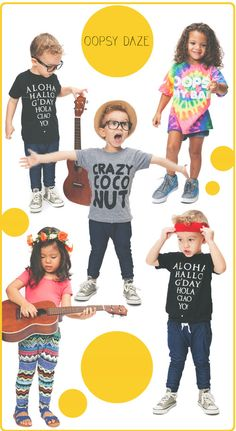 Oopsy Daze : Summer Lovin' Kids Clothing from Hawaii
