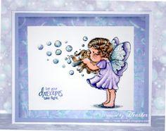 CAS Tilda Blowing Bubbles !! - Heathers Haven