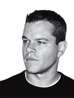 Matt Damon. He is just so cute and seems like a really nice guy. Smooooch!!