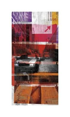 Giclee Print: New York Streets VI by Sven Pfrommer : Mixed Media Photography, Fine Art Photography, Contemporary Artists, Contemporary Style, Royal College Of Art, Beach Landscape, Ways Of Seeing, New York Street, Watercolor Paper