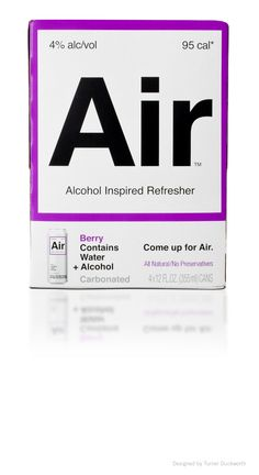 Air Packaging Design by Turner Duckworth