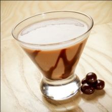 Espresso - Chocolate Martini: Van Gogh Double Espresso Vodka, Kahlua, Chocolate, and Milk