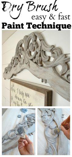 Chalk Paint Techniques, Chalk Paint Projects, Chalk Paint Furniture, Hand Painted Furniture, Furniture Projects, Furniture Makeover, Furniture Refinishing, Chalk Paint Colors, Annie Sloan Chalk Paint