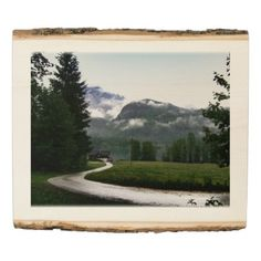 """A house at lake """"Grundlsee"""" (Altaussee Austria) Wood Panel Rustic Wall Decor, Rustic Charm, Wood Paneling, Wood Wall Art, Wood Print, Austria, Natural Wood, Keep It Cleaner, How To Memorize Things"""