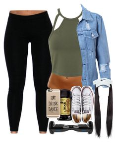 """The way- kehlani X Chance the rapper"" by naenaecrazy ❤ liked on Polyvore featuring Miss Selfridge, Converse, Nike Golf and Casetify"