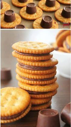 Rolo Ritz Cracker Cookies - There is just so much RIGHT about this!