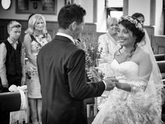 Viktoria and Stephen see each other for the first time. By Catherine MacKenzie photography