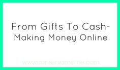 Make money or get Giftcards online for doing things you do.. Bloggers here are some great monetizing ideas as well.