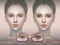 Eyebag F04 by S-Club LL at TSR via Sims 4 Updates