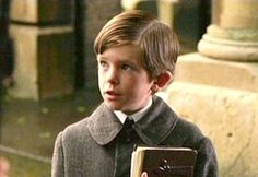 Freddie Highmore in Finding Neverland.  Such a uniquely sweet and intelligent little boy.