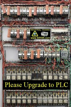 Why should I upgrade to a Program Logic Controller, (PLC)?     That was the question posed to us, by one of our readers, CLICK PIC to read.