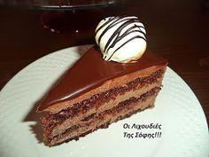 Greek Sweets, Greek Desserts, Nutella, Tiramisu, Food To Make, Cheesecake, Dessert Recipes, Treats, Cookies
