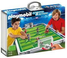 Playmobil – Fútbol Set De Fútbol Maletín (626663) | Your #1 Source for Toys and Games