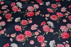 Excited to share the latest addition to my #etsy shop: Cotton fabric Floral fabric Pink floral fabric by the yard voile fabric cotton voile pink carnations Rose & Hubble London Collection http://etsy.me/2GKRGOj #supplies #blue #floral #fabric #pink #voile #carnations