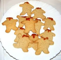 """Plan a """"monstrous"""" Halloween menu with our comprehensive list of 291 Halloween recipes, including these spooky Headless Gingerbread Men!"""
