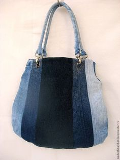 Picture only.no link Bag Jeans, Denim Purse, Denim Handbags, Quilted Handbags, Jean Purses, Diy Bags Purses, Denim Crafts, Recycled Denim, Patchwork Bags