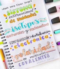 Bullet Journal Banner, Bullet Journal Writing, Bullet Journal School, Journal Fonts, Bullet Journal Lettering Ideas, Bullet Journal Ideas Pages, School Organization Notes, School Notes, Pretty Notes
