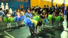"""Apresentação do balé na """"Festa da Familia"""" Ciranda da bailarina"""