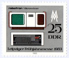 Los sorprendentes sellos de Alemania del Este