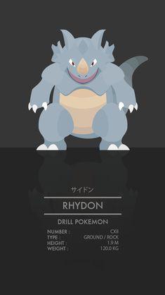 Rhydon by WEAPONIX on DeviantArt