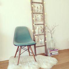 Vintage Herman Miller Eames side Chair Vitra dowel by LeFlair, €399.00